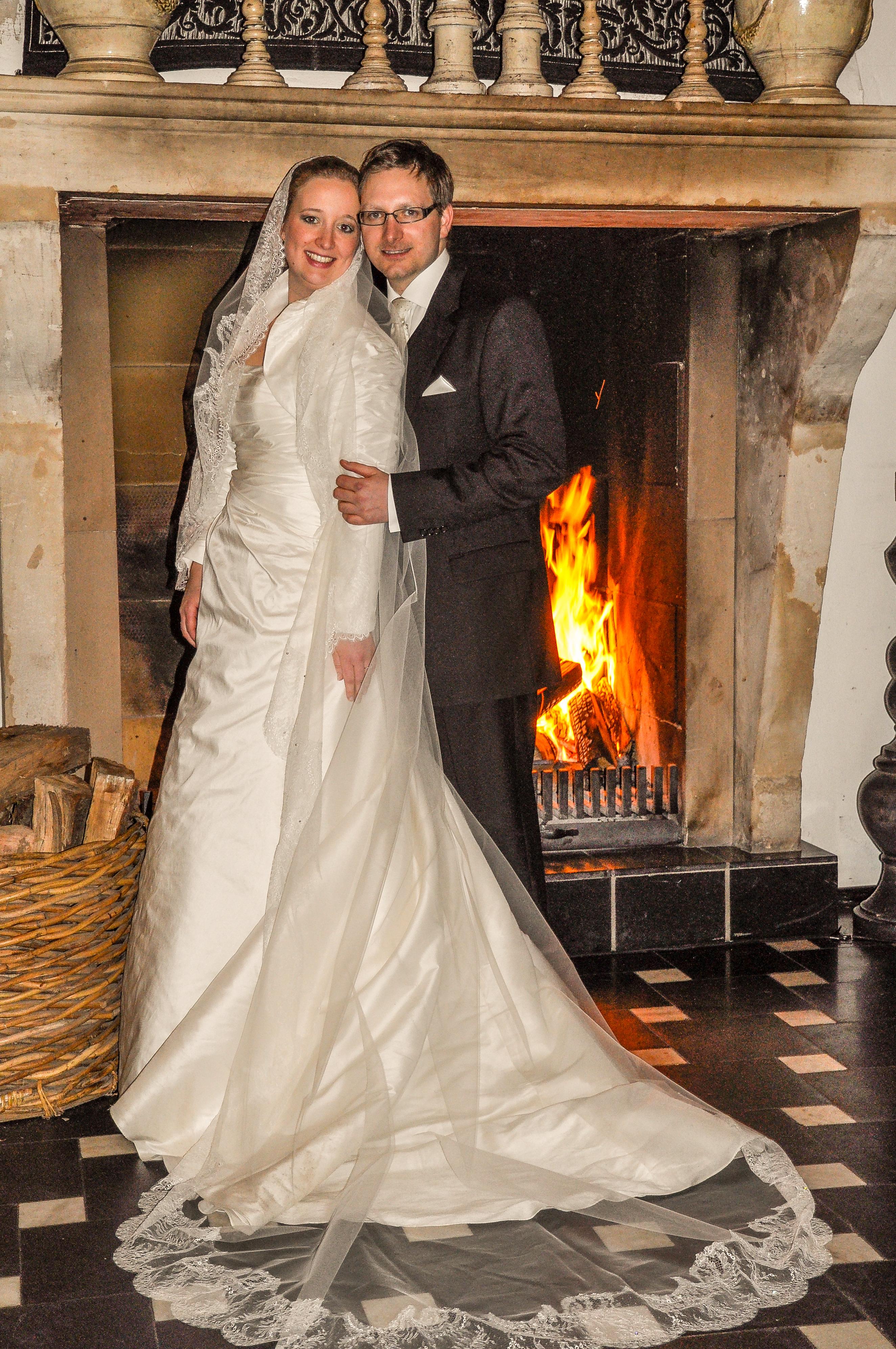 Vintage Hochzeit im Winter