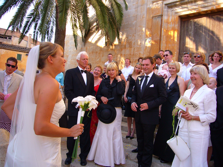 Hochzeitsgesellschaft Mallorca